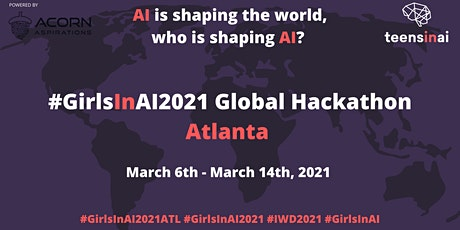 #GirlsInAI2021 Hackathon – Atlanta tickets
