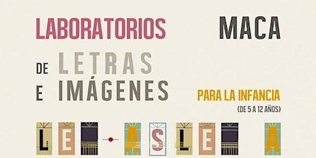 """Laboratorio de Letras e Imágenes: """"SOY UN BLOP. Personajes abstractos."""" tickets"""