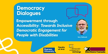Empowerment through Accessibility: Towards Inclusive Democratic Engagement tickets