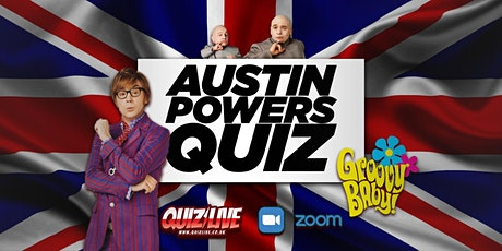 The Groovy Austin Powers Trilogy Quiz Live on Zoom with Carl Matthews tickets