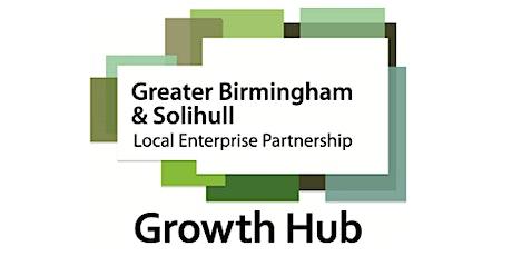 Funding and Planning Webinar - GBSLEP Growth Hub tickets