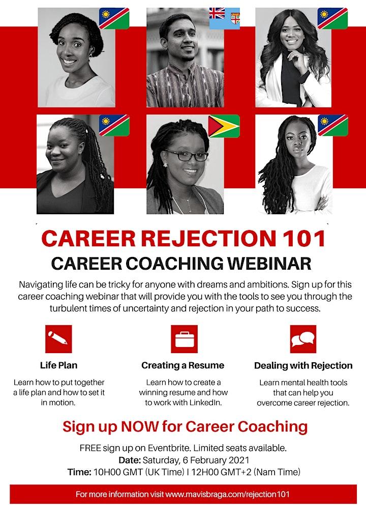 Career Rejection 101 - Career Coaching Webinar image