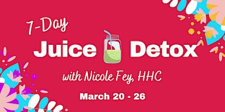 7-Day Juice Detox tickets