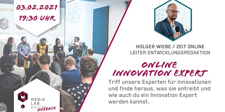 Media Lab Ansbach - Innovation Expert mit Holger Wiebe Tickets