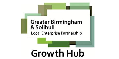Digital Marketing Webinar - GBSLEP Growth Hub entradas