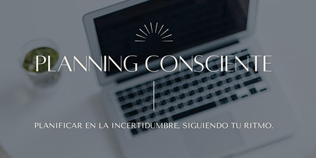 Planning Consciente 2021 boletos