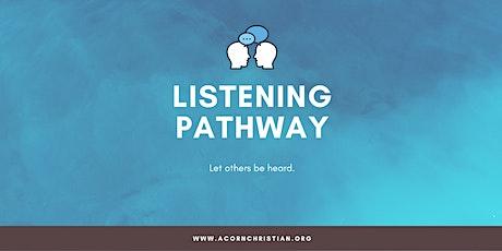 Acorn Professional Volunteer Listening (Digital Event) tickets