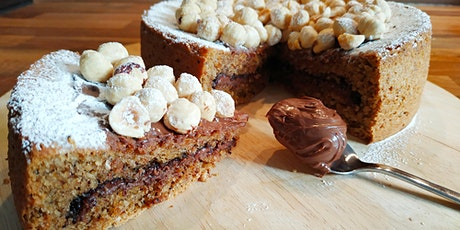 Online baking workshop gluten free hazelnut and chocolate cake tickets