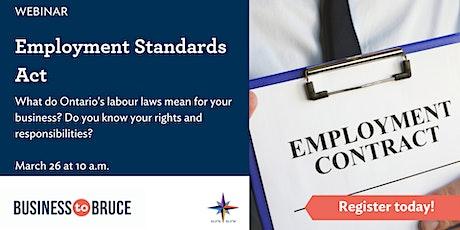 Employment Standards Act tickets