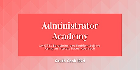 ONLINE AA#3782 Bargaining and Problem Solving using an Interest... (06873) tickets