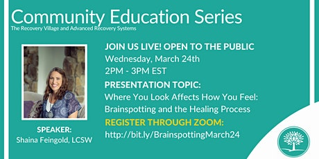 Community Education Series: Brainspotting and the Healing Process tickets