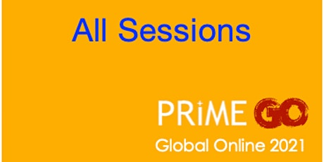 PRIME GO 2021 - All Sessions tickets