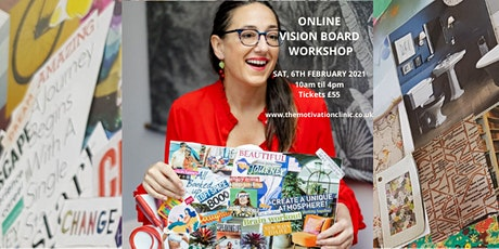 Vision Board Workshop - Make your dreams reality tickets