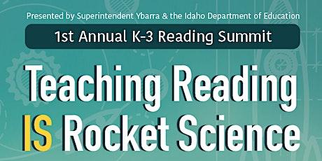 K-3 Reading Summit tickets