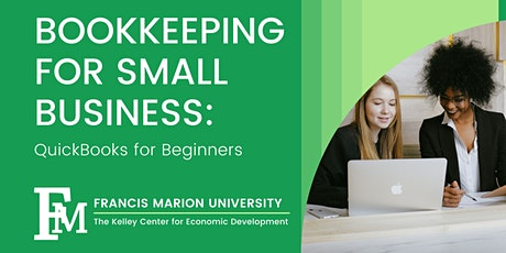 Bookkeeping for Small Business: QuickBooks for Beginners tickets