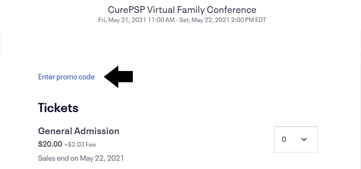 CurePSP Virtual Spring Family Conference image