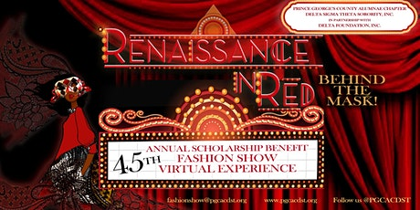 45th Annual Scholarship Benefit Virtual Fashion Show tickets