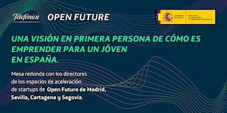 Emprender sin límites: Una visión de Open Future tickets