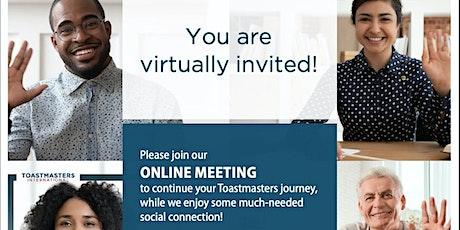 Passionate Communicators Virtual Online Meeting zoom tickets