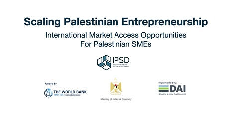 Scaling Palestinian Entrepreneurship tickets