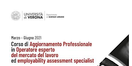 """WEBINAR#2 presentazione Corso """"OML ed Employability Assessment Specialist"""" biglietti"""