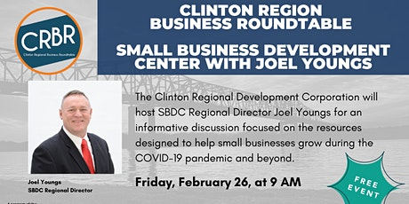 Small Business Development Center Updates  w/Joel Youngs tickets