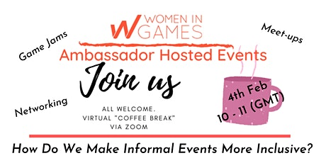 Women in Games Ambassador Hosted Events with Emma Cowling tickets