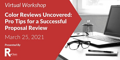 Color Reviews Uncovered: Pro Tips for a Successful Proposal Review tickets