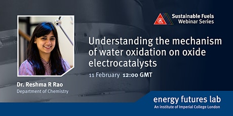 Understanding the mechanism of water oxidation on oxide electrocatalysts tickets