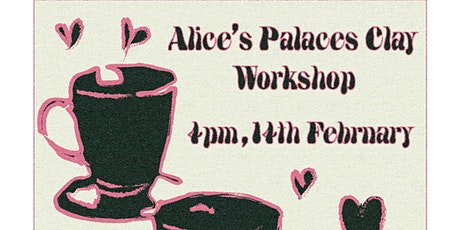 Self-Care Sundays: Ceramics workshop with Alice's Palaces tickets