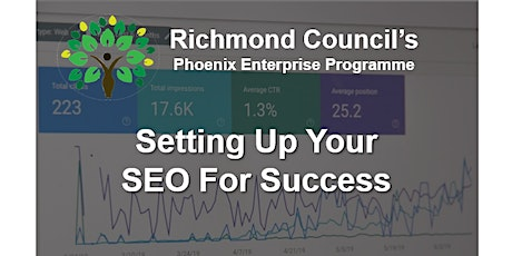 Setting Up Your SEO For Success tickets