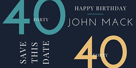John's 40/40 Club! tickets
