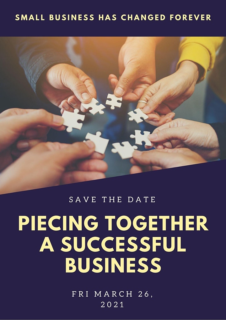 Piecing Together a Successful Small Business (live and virtual options) image