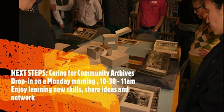 NEXT STEPS: Caring for Community Archives   Storage of Photographs tickets