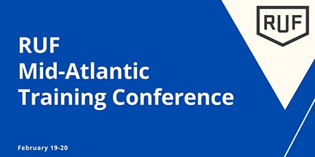 RUF Mid-Atlantic West Training Conference Spring 2021 (#364) tickets