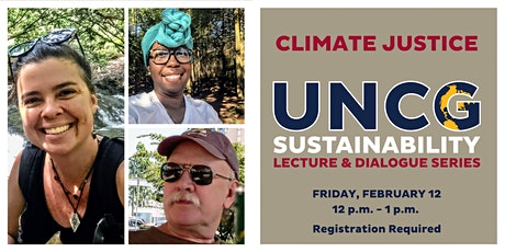 UNCG Sustainability Lecture & Dialogue Series: Climate Justice tickets