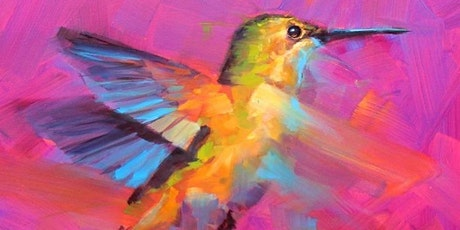 Paint and Sip at Home 'Humming Bird' tickets