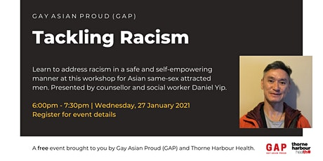 Gay Asian Proud (GAP): Tackling Racism tickets