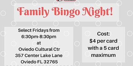 February Family Bingo Night tickets