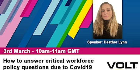 How to answer critical workforce questions due to Covid19 tickets