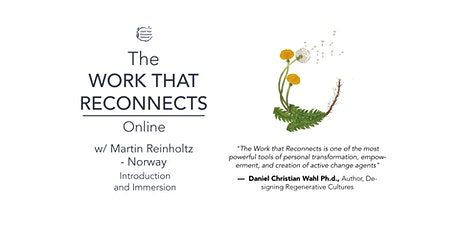 The Work That Reconnects: Introduction and Immersion tickets