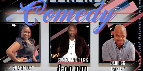 FREE EVENT -Friday Night LIGHTS Derrick Cakley at the KOMEDY LOUNGE tickets