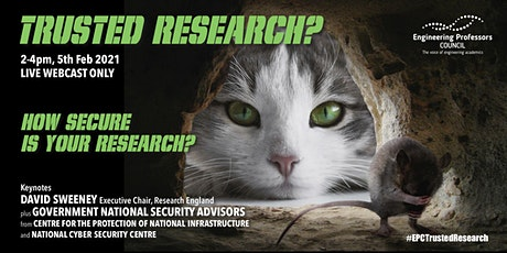Trusted research: how secure is your research? tickets