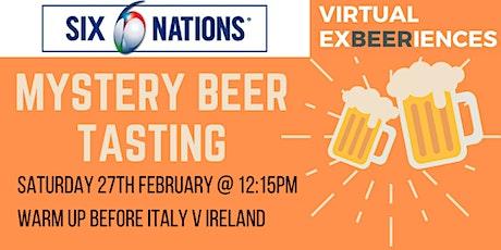 6 Nations Virtual Beer Tasting - Italy v Ireland tickets