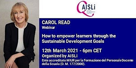 How to empower learners through the Sustainable Development Goals tickets