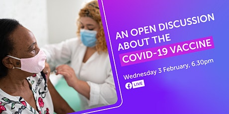 An open discussion about the COVID-19 vaccine, chaired by Lord Woolley CBE tickets