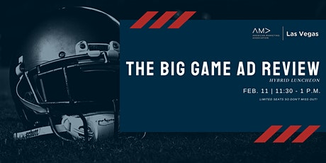Hybrid luncheon - Annual Big Game Ad Review tickets