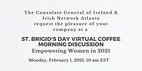St. Brigid's Day Virtual Coffee Morning Discussion tickets