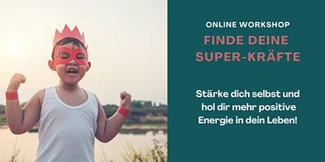"Online Workshop ""Finde deine Super-Kräfte"" Tickets"