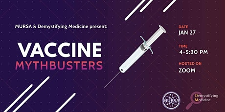 Vaccine Mythbusters tickets
